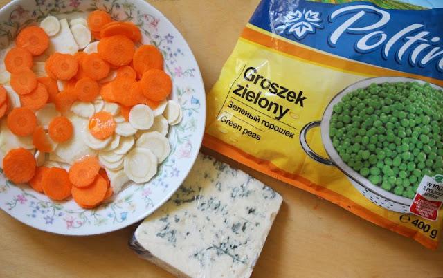 zupa, zielony groszek