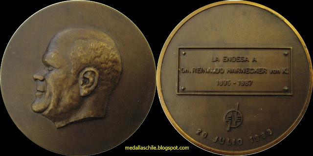 Medalla Endesa Reinaldo corfo
