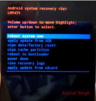 android system recovery - lg tribute 2