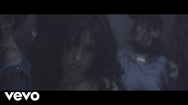 "A Clip from Camila Cabello's Video ""Crying in the Club"""