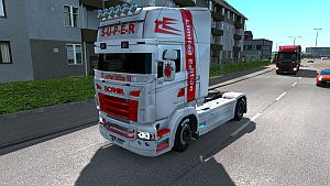 Limited Edition paint job for Scania RJL