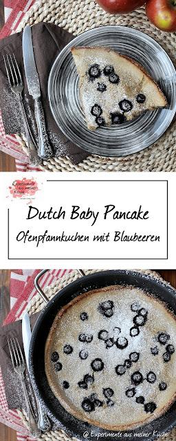 Ofenpfannkuchen {Dutch Baby Pancake}  | Rezept | Kochen | Essen