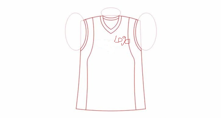 4 steps to draw  design your own jersey The stories told NBA