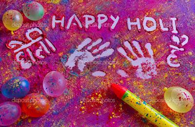 holi images of india