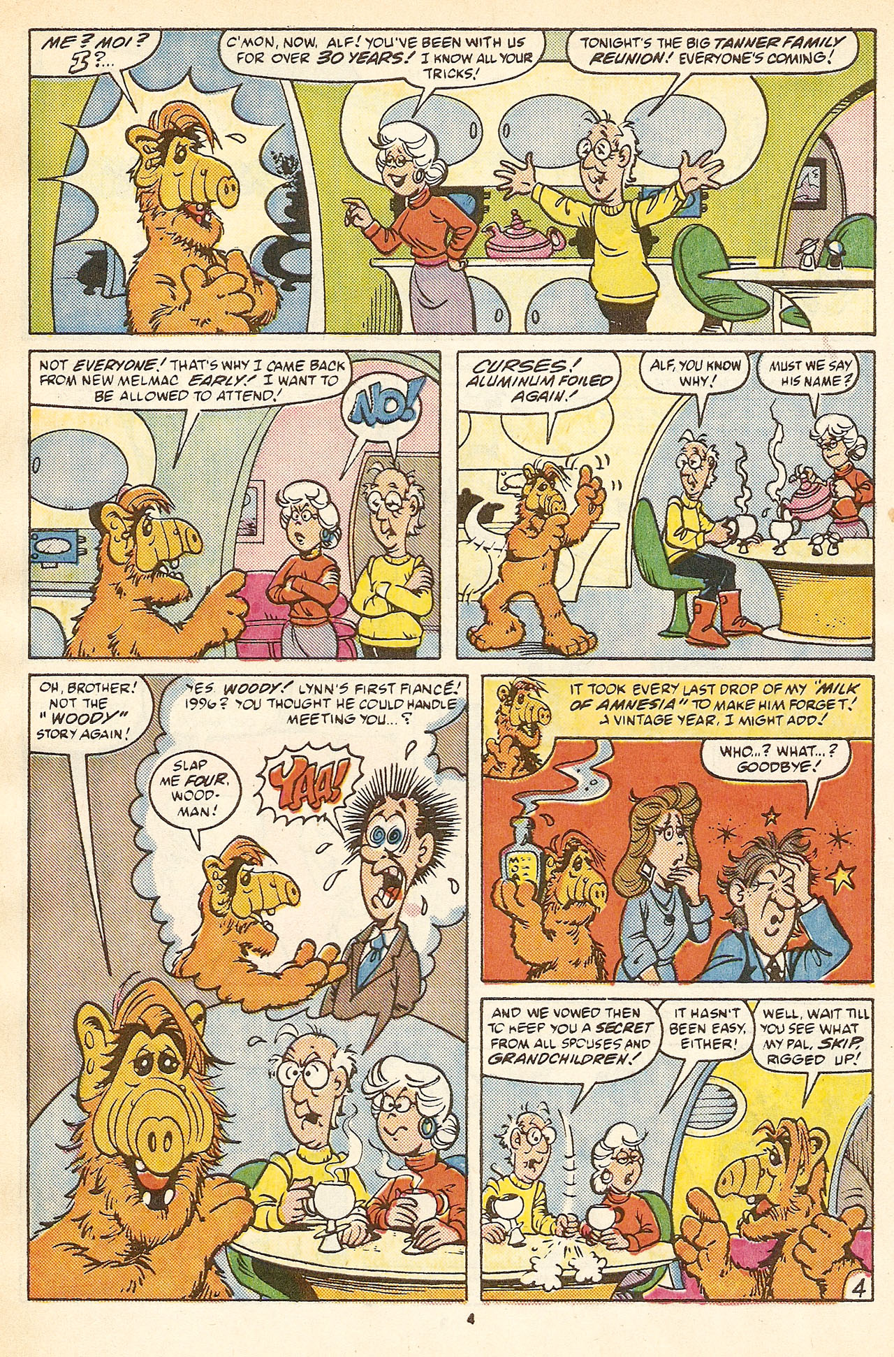 Read online ALF comic -  Issue #17 - 6