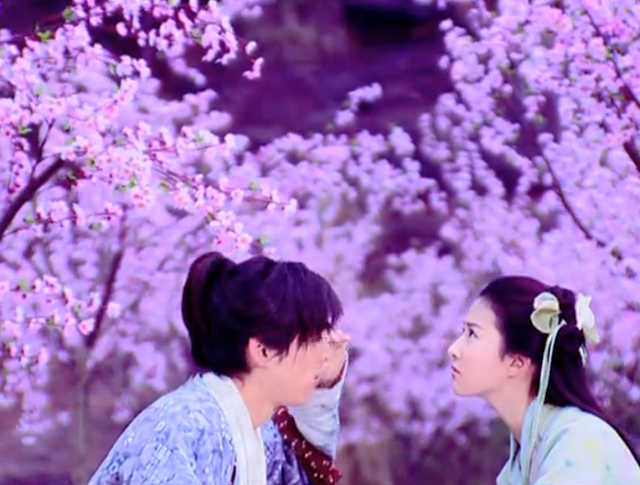 Hu Ge and Crystal Liu Yi Fei in ep1 of Chinese Paladin 1