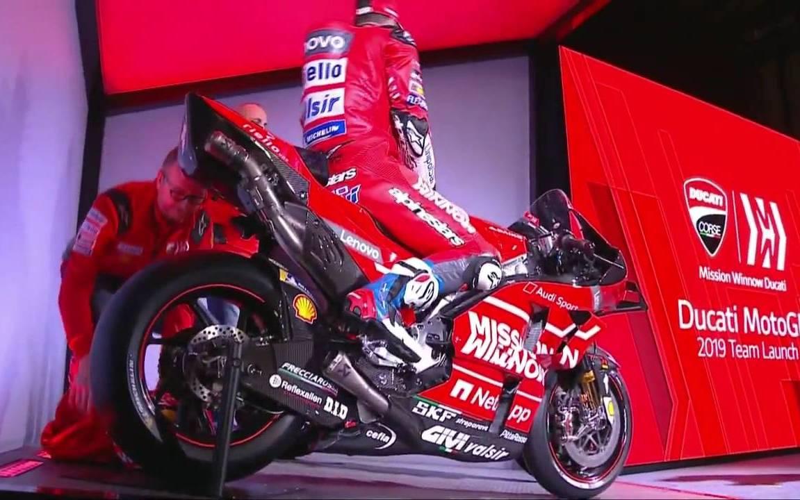 MotoGP : Tim pabrikan Ducati resmi perkenalkan Livery baru untuk musim 2019