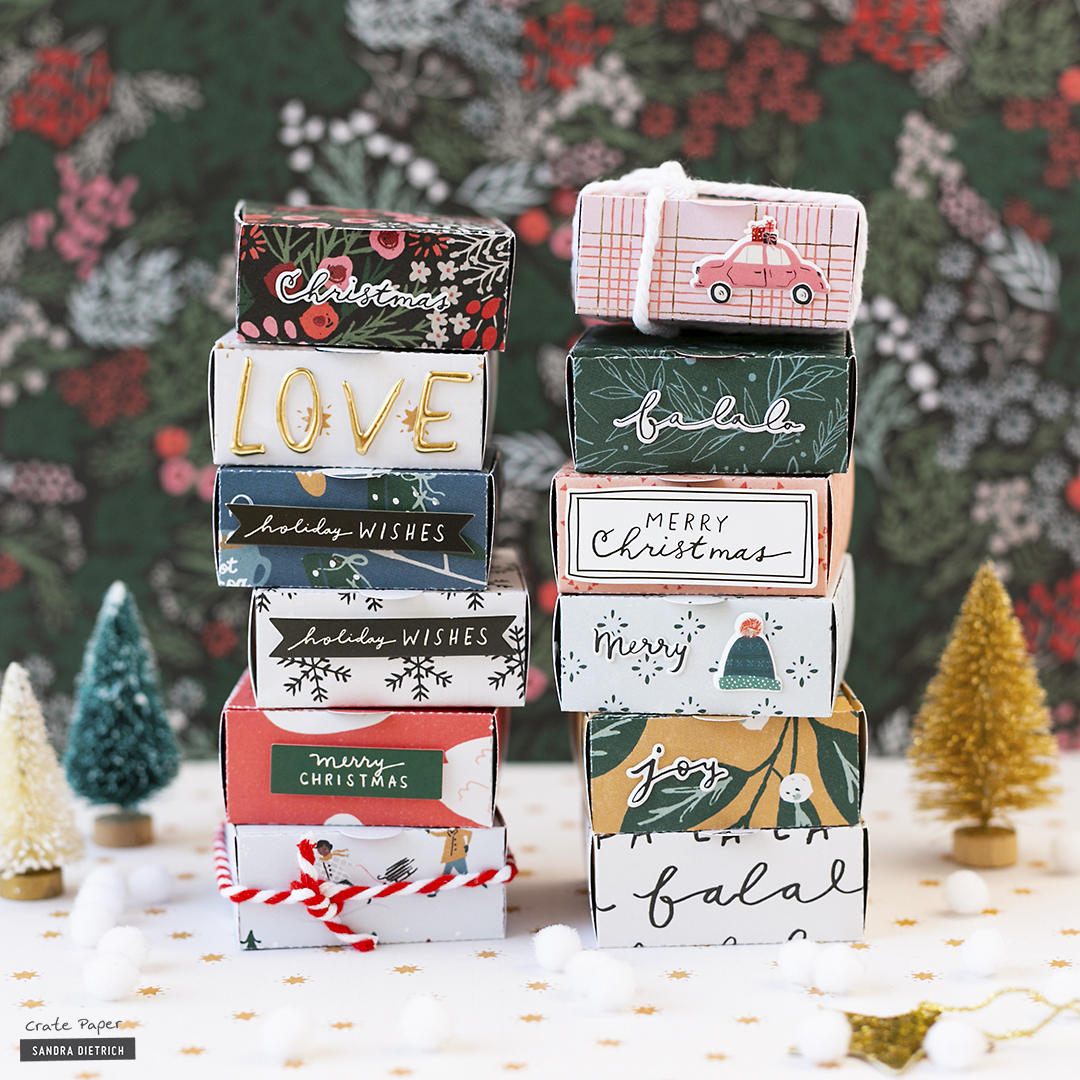 CRATE PAPER | Merry Days | Gift Wrapping | Gift Boxes | A