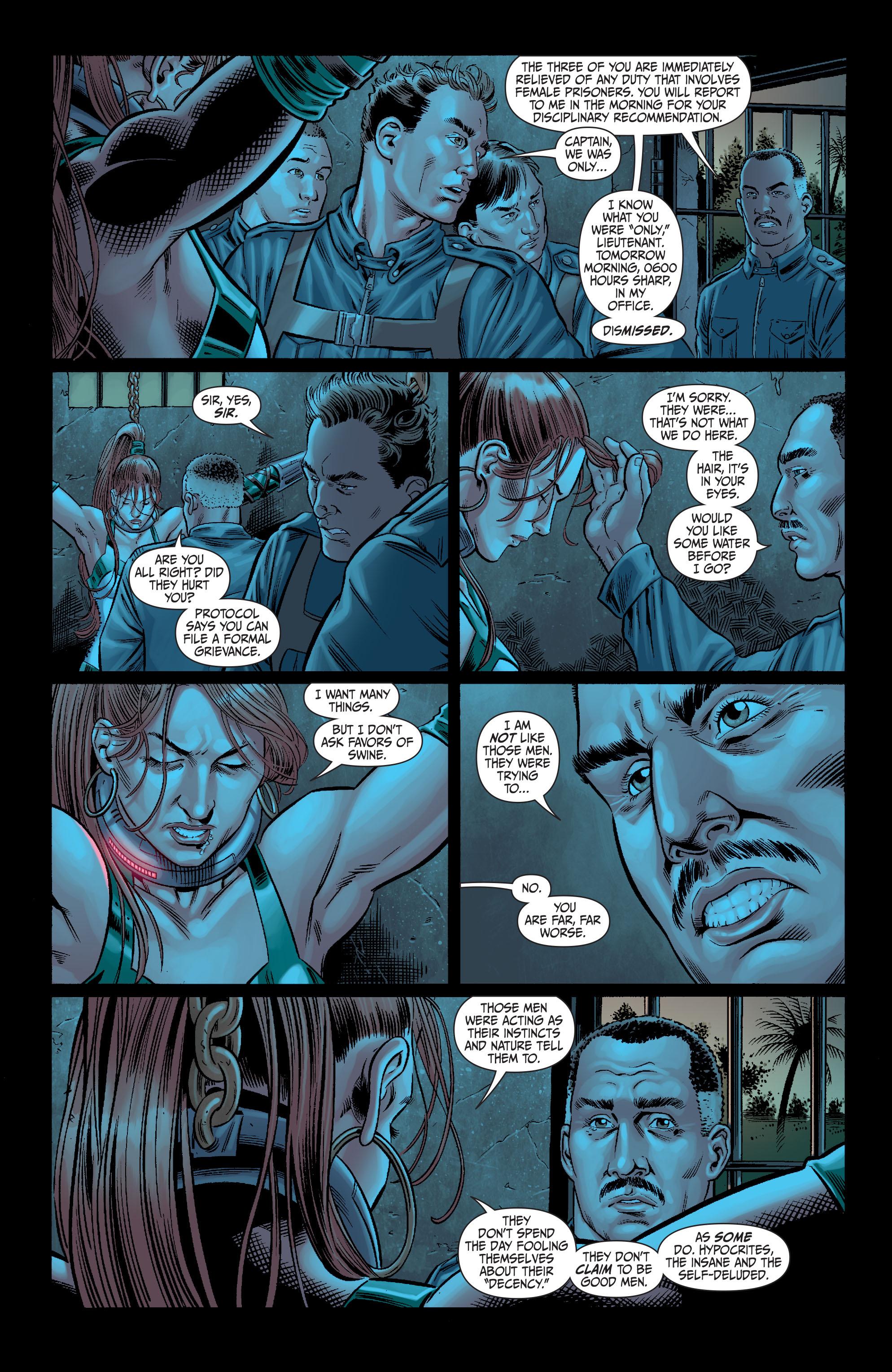 Read online Secret Six (2008) comic -  Issue #11 - 10