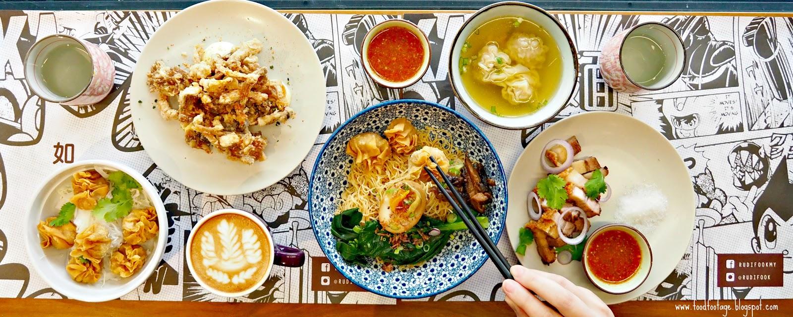 Ru di fook noodle bar kota damansara kl foodfootage for Food bar kota damansara