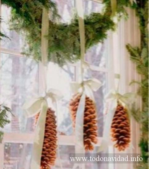 decorar ventanas navidad