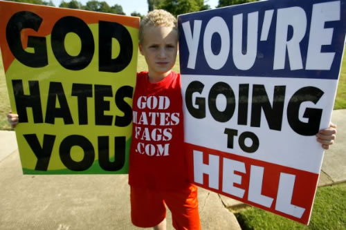 Is God a Racist Misogynistic Homophobic Genocidal Maniac and Terrorist - God hates Homosexuals