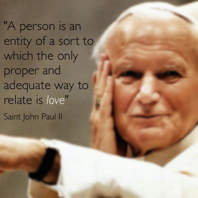 Fashion Serendipity Qotd Saint John Paul Ii