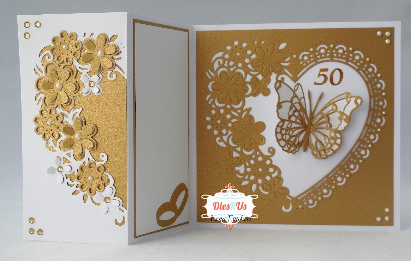 Lena s creations happy th wedding anniversary