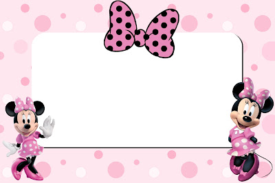 Inspired In Minnie Mouse Free Printable Party Invitations Pink