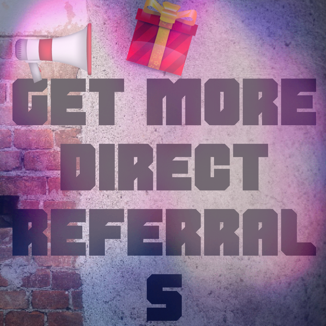 how to get direct referrals for ptc sites