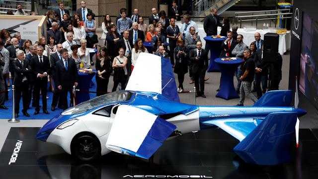 Los autos voladores podrían ser parte del transporte público de París dentro de cinco años