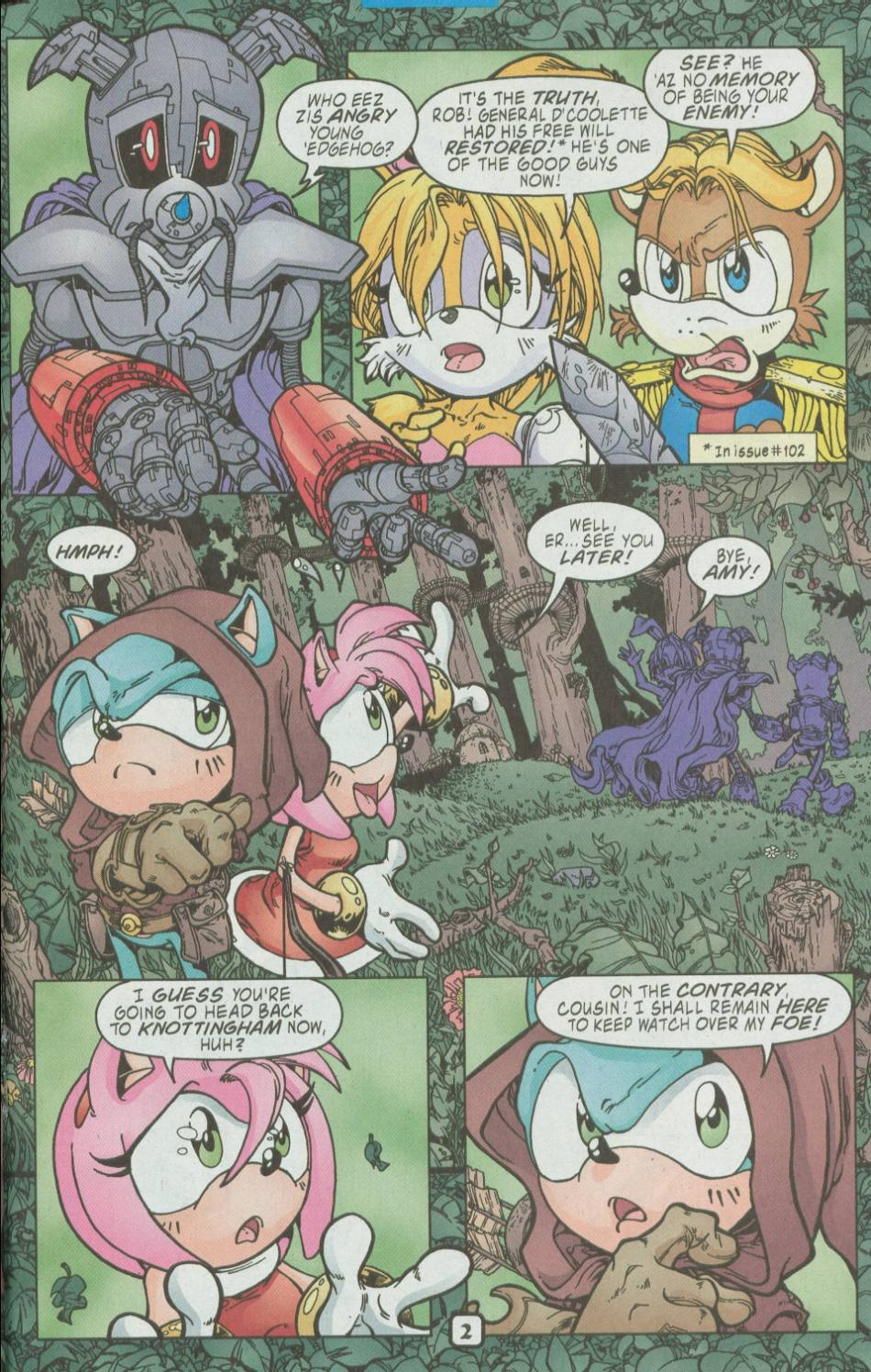 Read online Sonic The Hedgehog comic -  Issue #111 - 15