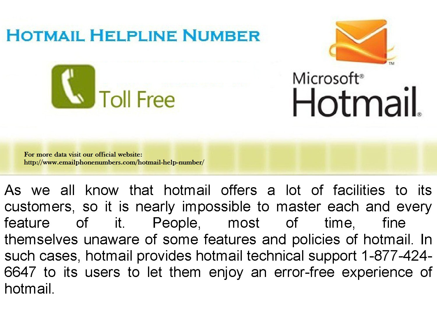 Hotmail Is One Of The Free Web Based Mailing Services With The Highest  Number Of Users. Also Called Microsoft Hotmail, Its Error Free Performance  And Top ... Design Ideas