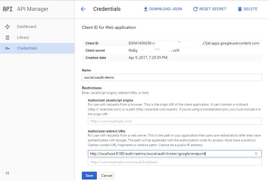 How to signin to keycloak using google | czetsuya's tech