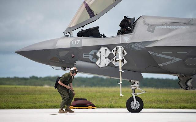 Καθηλώθηκε στο έδαφος ο παγκόσμιος στόλος των F-35