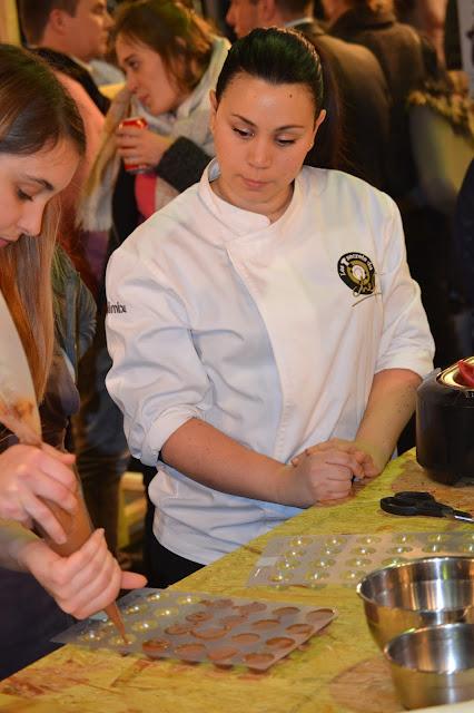Salon du chocolat 2017: mes ateliers chocolat Valrhona sur le stand des Secrets du chef