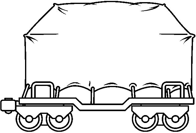 electric train clipart black and white - photo #17