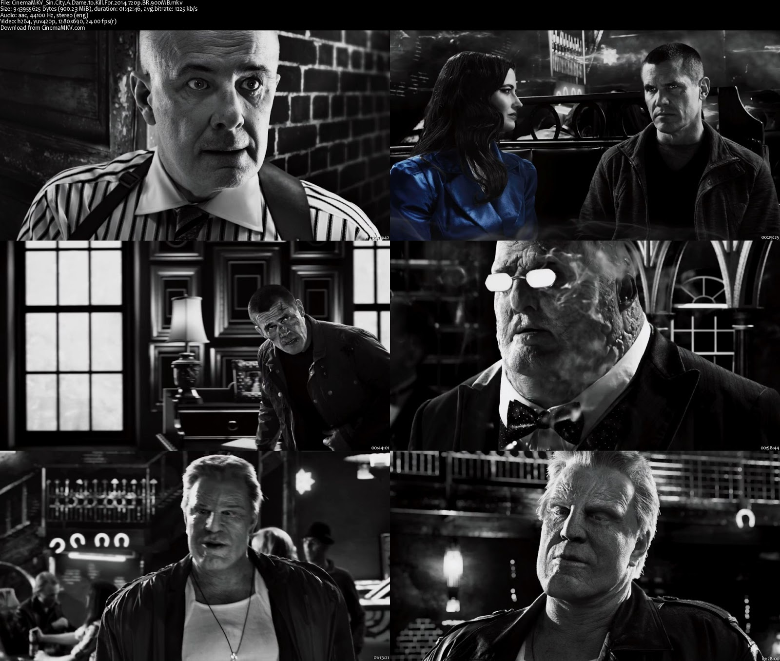 Sin City: A Dame to Kill For (2014) Bluray