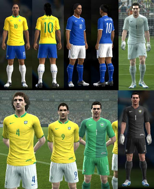 Brazil 2006 World Cup Kit PES 2013