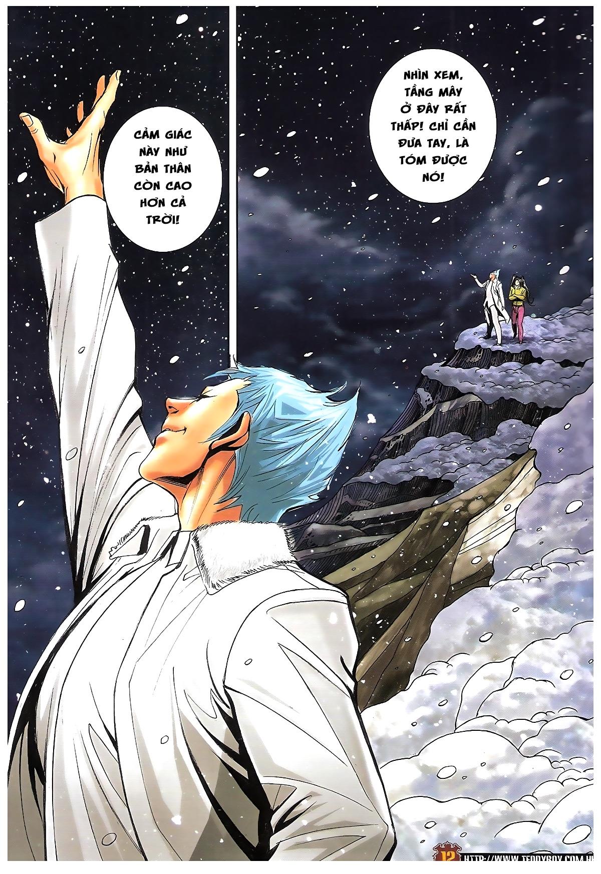 Người Trong Giang Hồ - Chapter 1613: Tuyết Địa Tranh Hùng - Pic 9