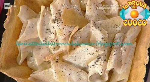 Pennoni cacio e pepe ricetta Ruffini da Prova del Cuoco