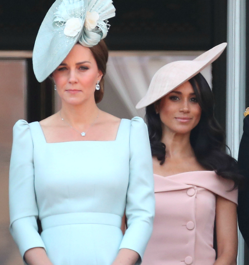 Trooping The Colour 2018 Kate Middleton e Meghan Markle
