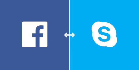 Facebook-no-Skype