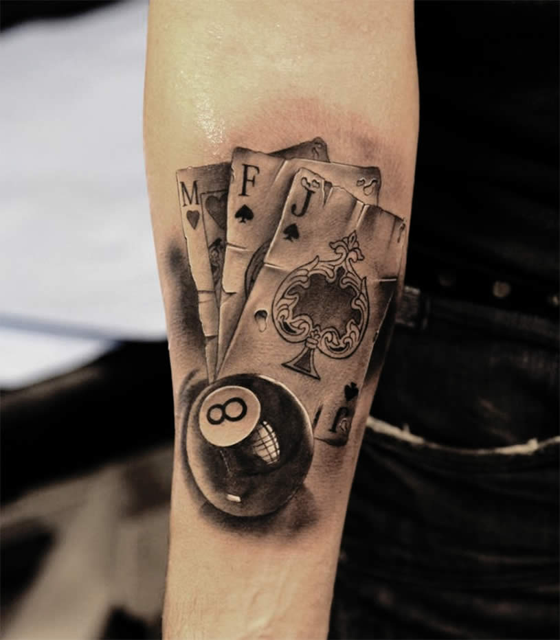 Tattoo Kartenspiel