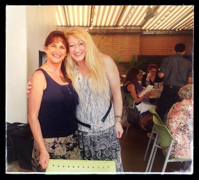 Oriana Marici and Jilly Jesson Smyth at Zin Burger