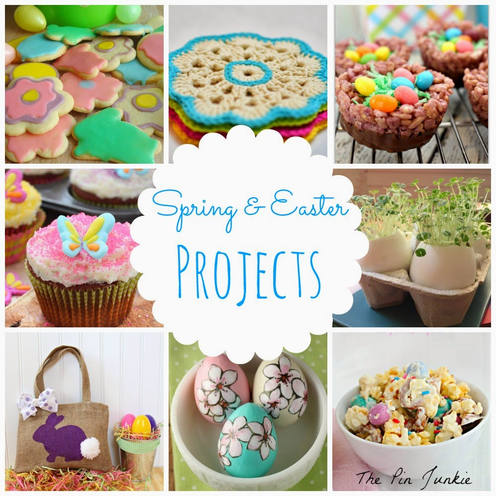 spring easter crafts recipes