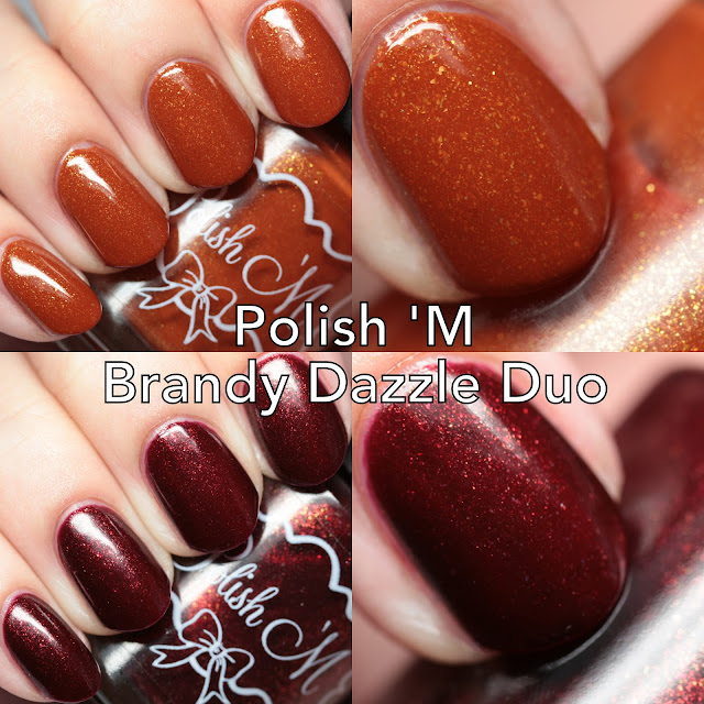 Polish 'M Brandy Dazzle Duo
