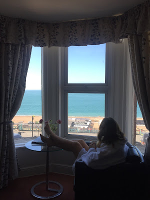 Brighton hotel views of the beach