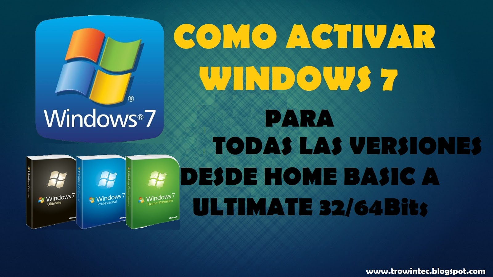 como activar windows 7 professional 64 bits