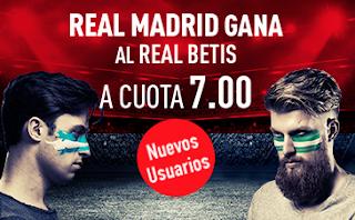 sportium Supercuota 7 Real Madrid gana Betis 20 septiembre