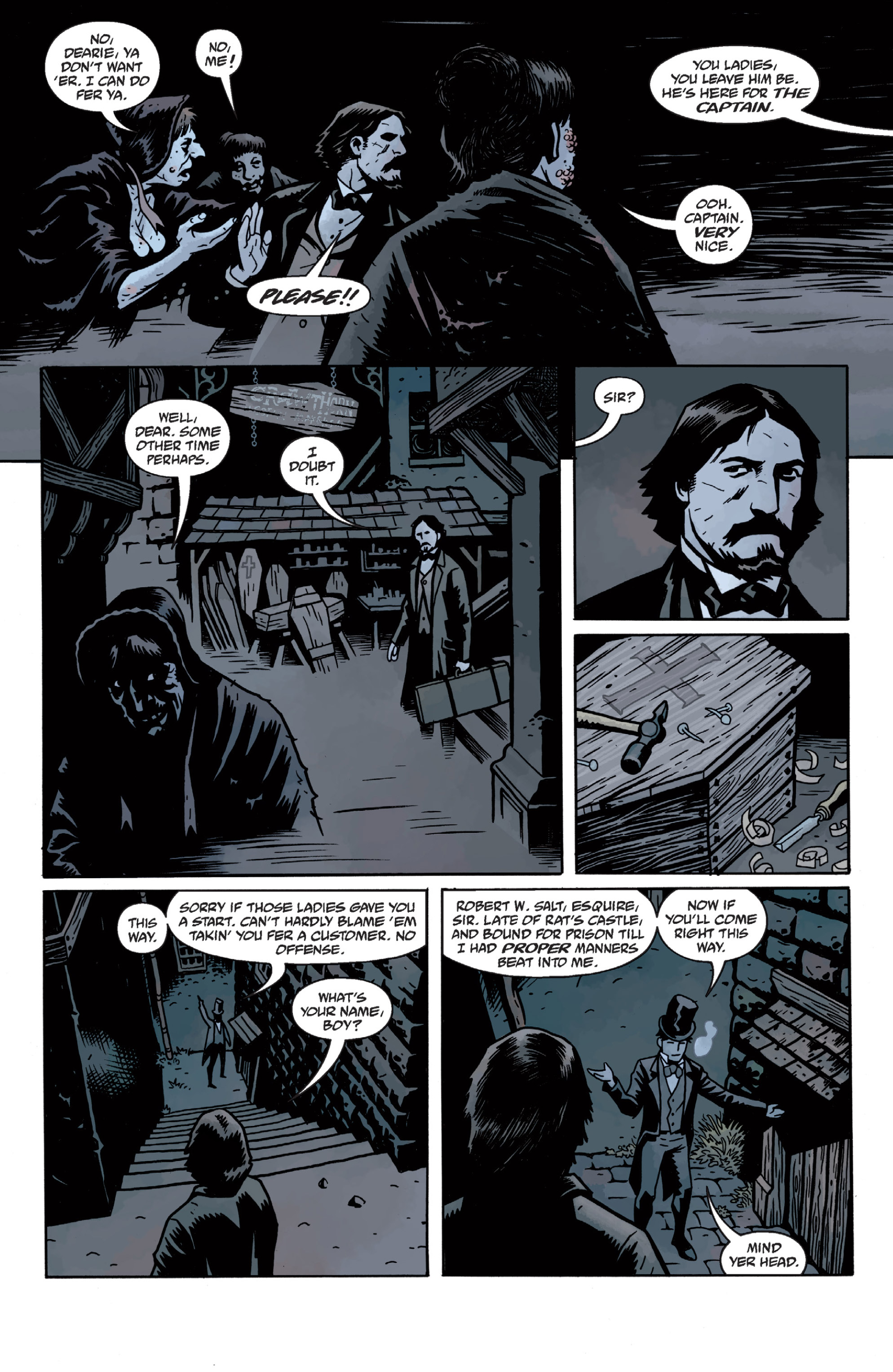 Read online Sir Edward Grey, Witchfinder: In the Service of Angels comic -  Issue # TPB - 35