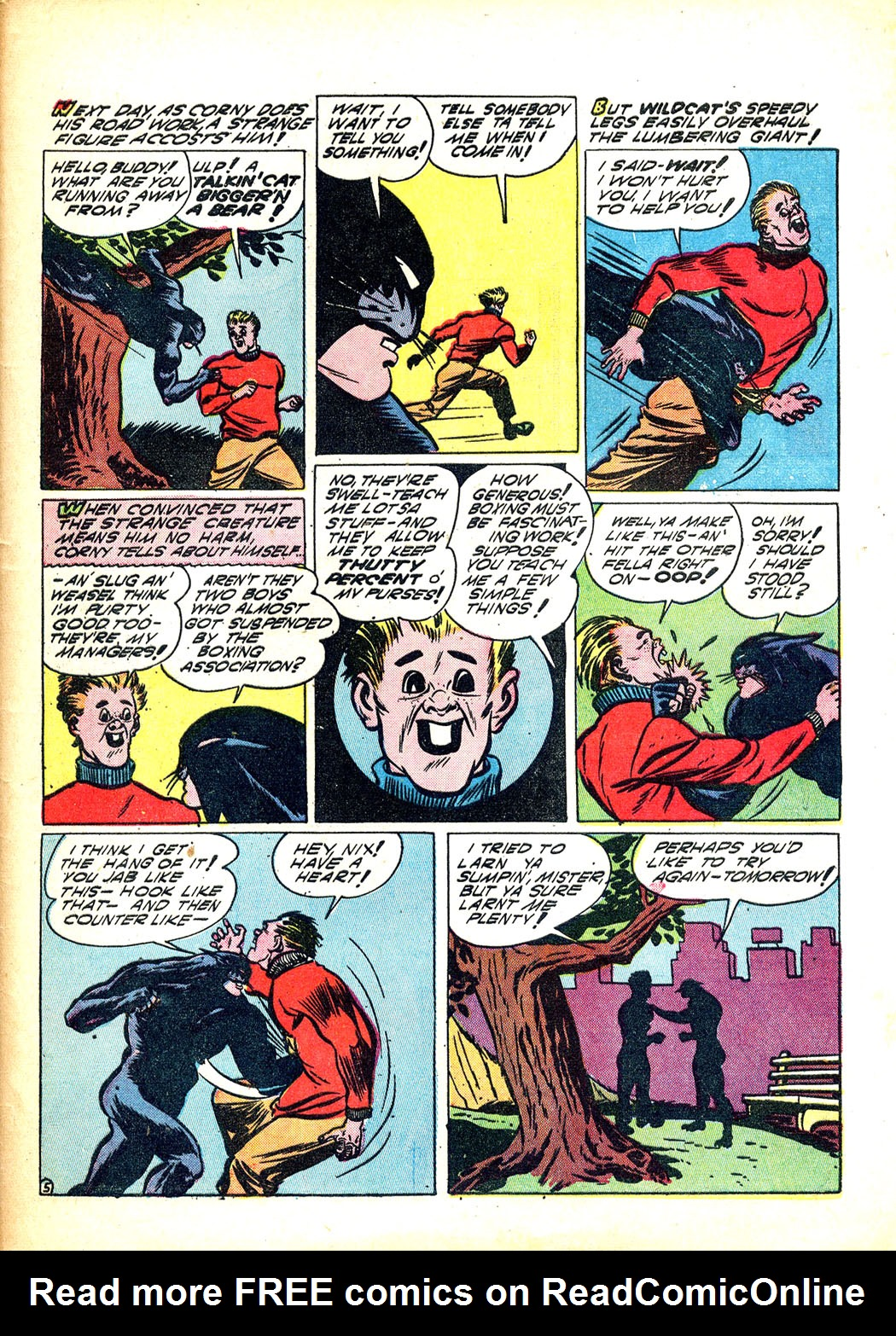 Read online Sensation (Mystery) Comics comic -  Issue #12 - 57
