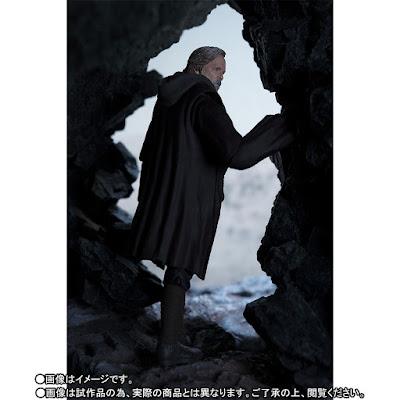 "S.H.Figuarts Luke Skywalker de ""Star Wars"" - Tamashii Nations"