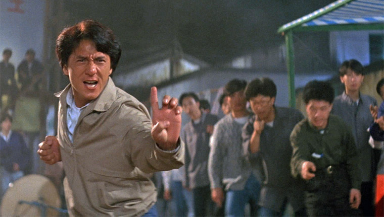 Jackie Chan in Police Story 3 (Stanley Tong, 1993). Quelle: Media Asia/Golden Harvest