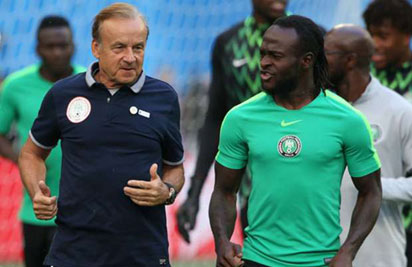 Eagles Coach Rohr Supports Pinnick's Move For Moses' Return