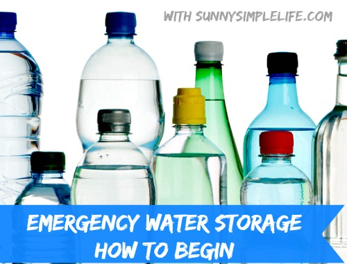 prepper, prepping, storing water