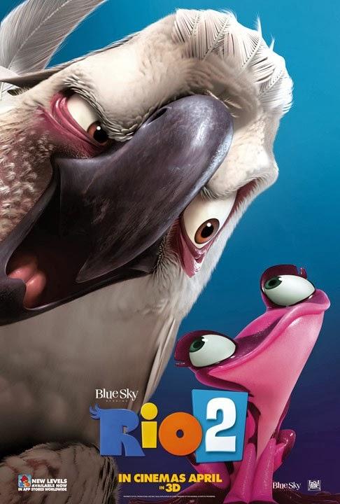 Rio 2 2014 720p BluRay 800mb HD Download