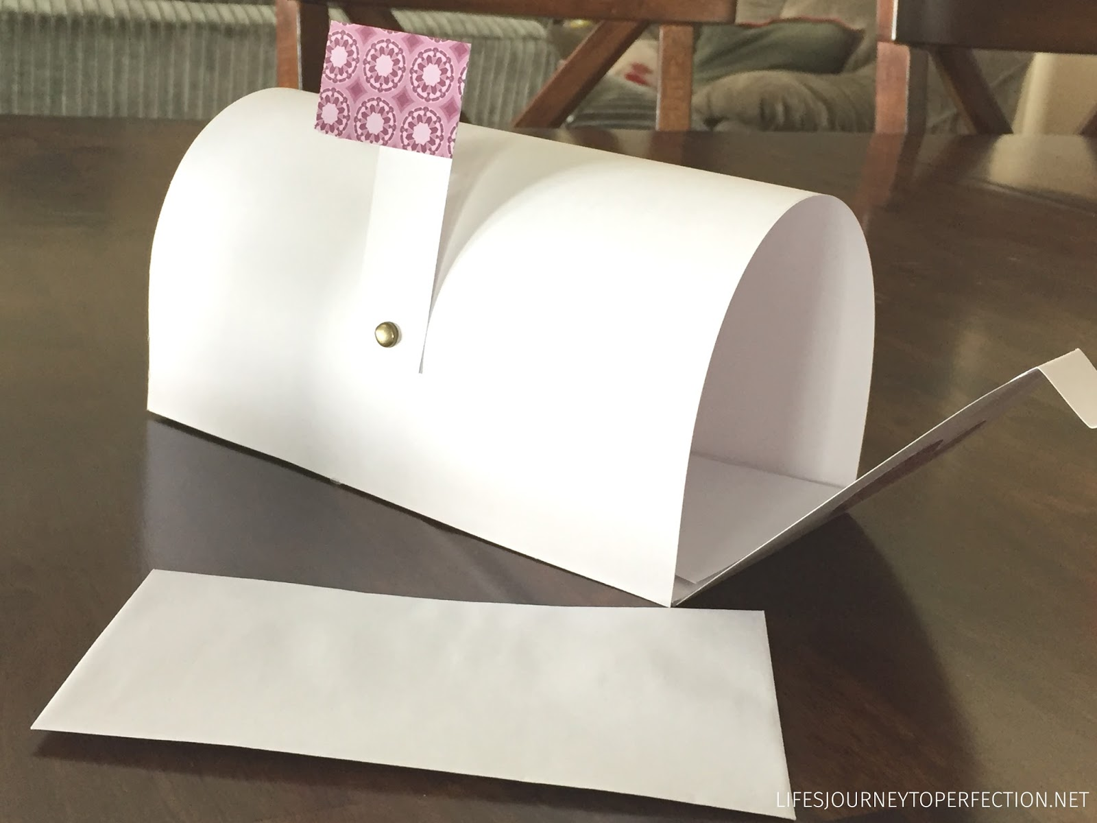 life s journey to perfection how to make a paper mailbox out of 2