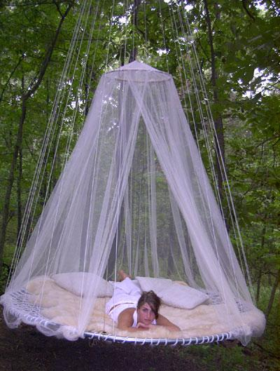 Amaze Pics & Vids: Floating Round Hanging Bed...