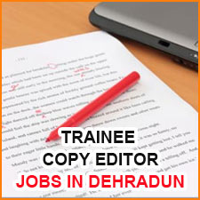 Trainee Copy Editor ( Scientific Journals ) - Aptara Corporation - Jobs in Dehradun  www.aptaracorp.com